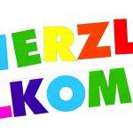 Grusskette Herzlich Willkommen 2m