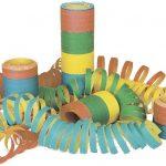 Luftschlangen 4m 4-farbig Beutel à 3