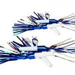 Luftrüssel silber/blau assortiert Beutel à 6