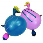 Ballon geformt Hahn mit Stimme assortiert Beutel à 2