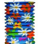 Zuglampion Sommerblumen blau 25cm