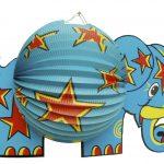 Tierlampion Elefant