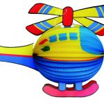 Formlampion Helikopter
